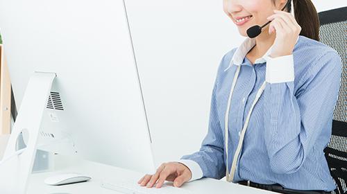無料体験の時からサポートは無料、貴社に最適な設定を支援します